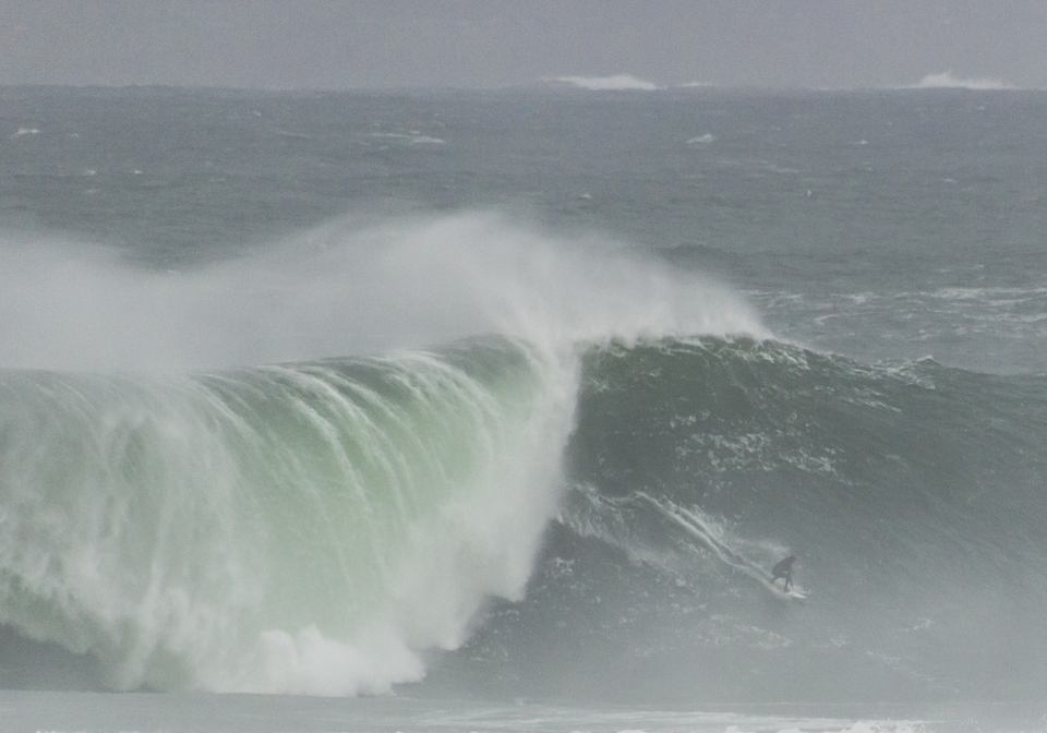 However we did have the odd massive swell from the Atlantic, sending surfers scurrying for Mullaghmore.