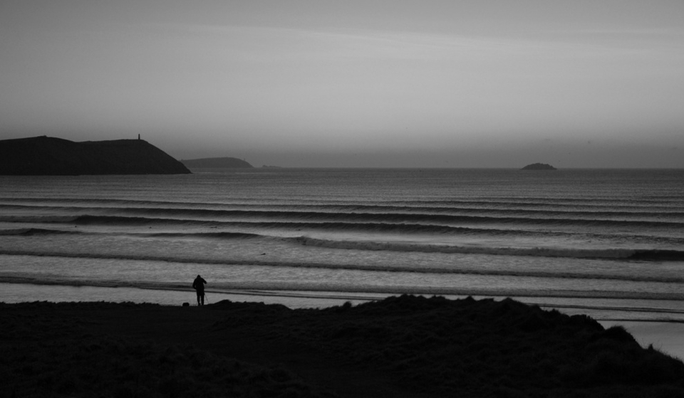 Polzeath - if only all winters were like this.
