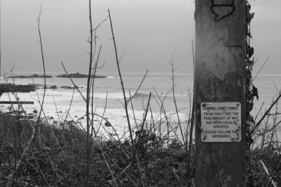 South Coast on Sun, 10th March: If you know, you know. I thought the sign summed things up nicely.