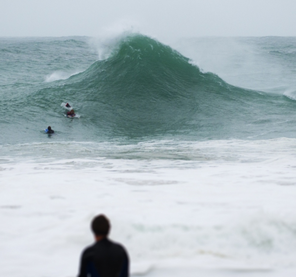 Extreme wedges were seemingly the order of the day in North Cornwall.