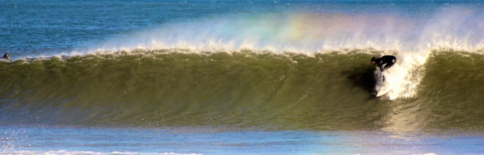 Somewhere under the rainbow, tubes will grind.
