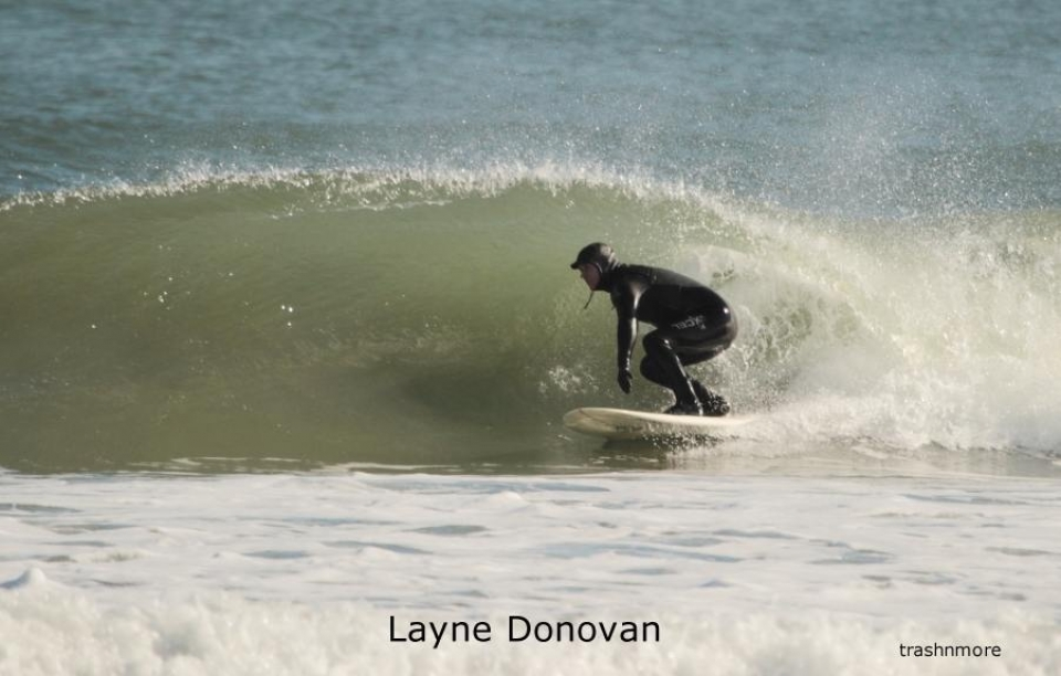 Layne Donovan getting in on the action in Virginia, though according to the photog, a terrible session was had.
