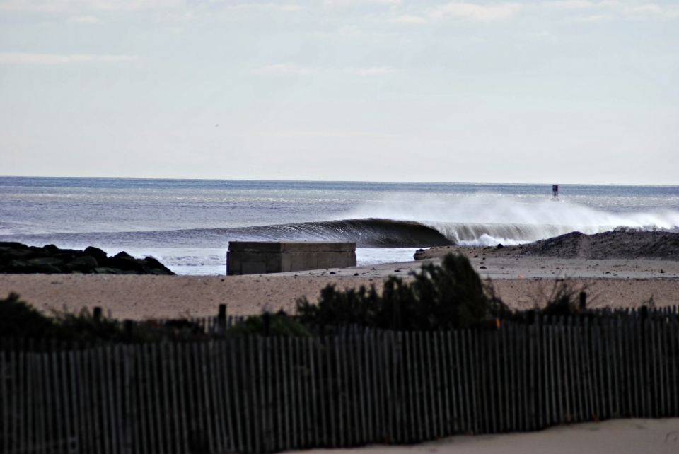 New Jersey.  A full day of spitting righthand barrels, shared by half of the state.