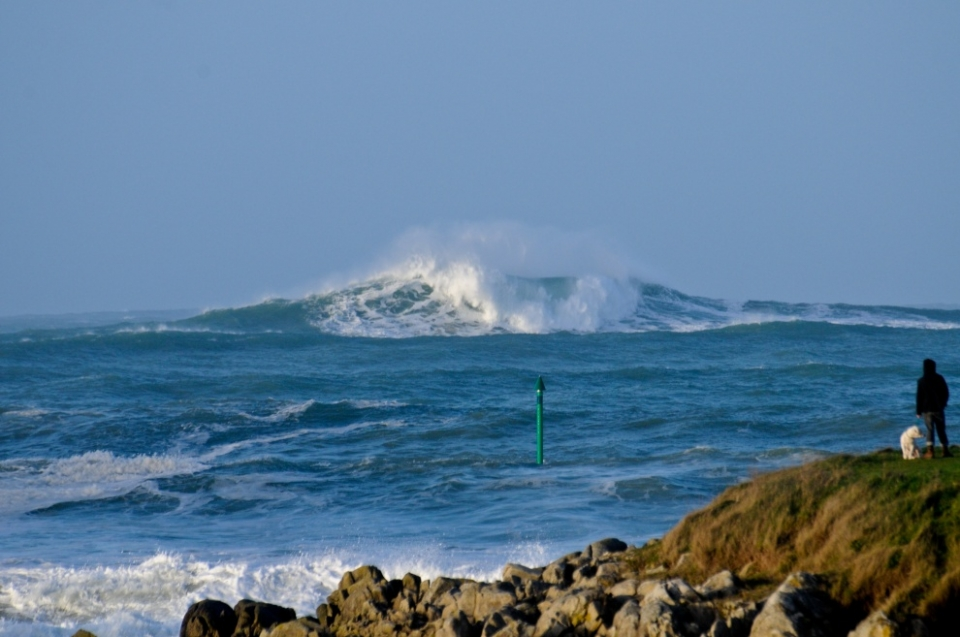 Unsurfable offshore bombs were a dominant theme in Brittany.