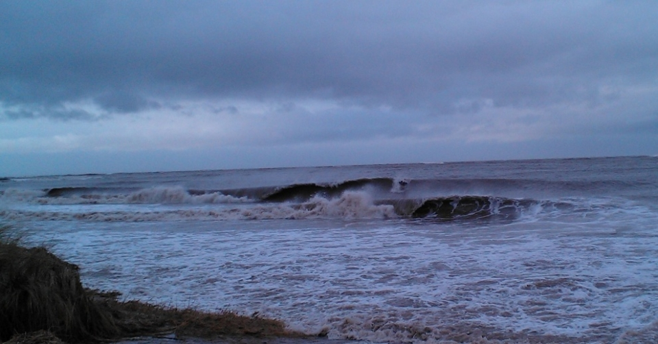Plenty of swell funnelled up to the Isle of Man