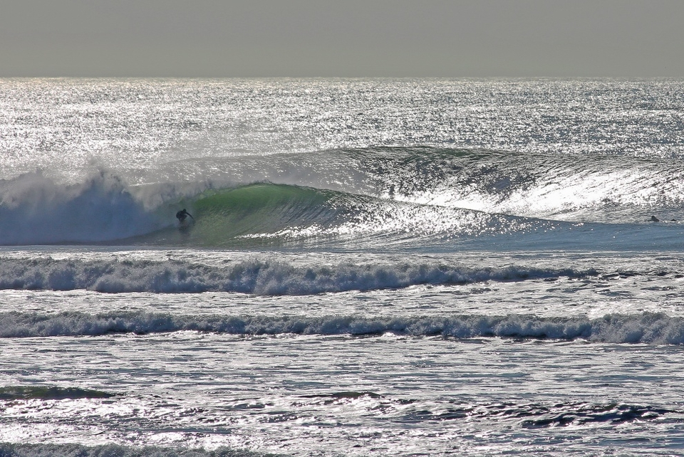 Ocean beach, San Francisco.  Sparkling perfection for Cyrus Sutton at Ocean Beach.