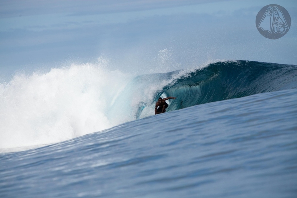 Cloudbreak, Fiji.  The jewel in Fiji's crown is nothing short of perfect at any size.