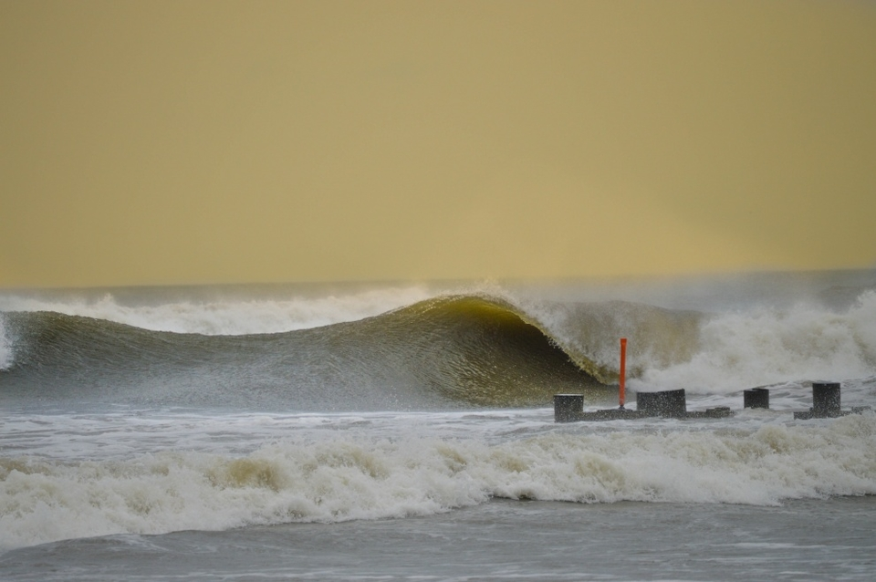 Wildwood, New Jersey experiencing the benefits of an Independence Day Hurricane