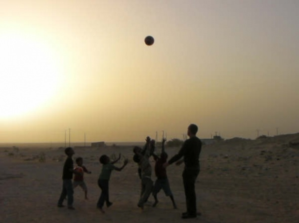 sunset football