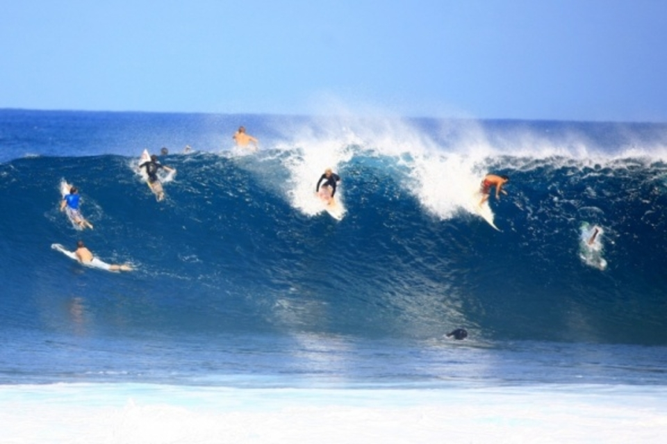 As good as anyone ... John John Florence