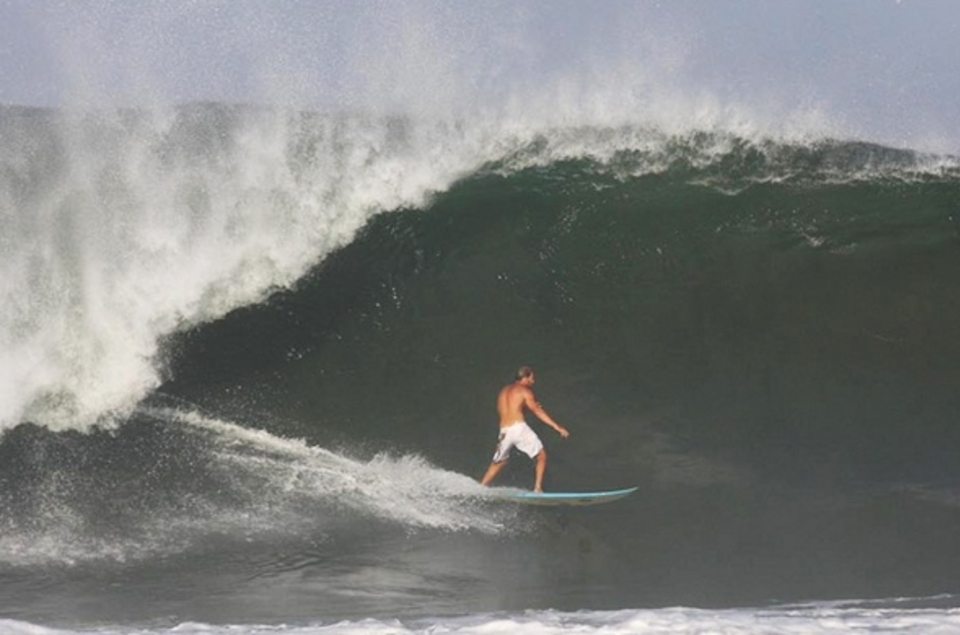 Never tows, pure paddle power ... Will Dillon