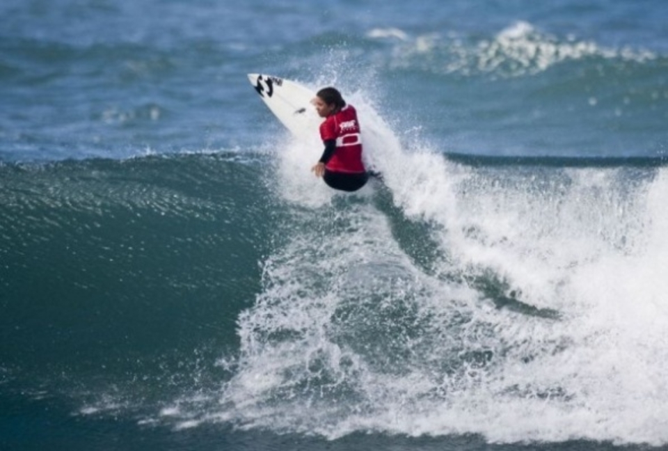 Heidi Palmboom was the Pro Junior Women's standout of the day