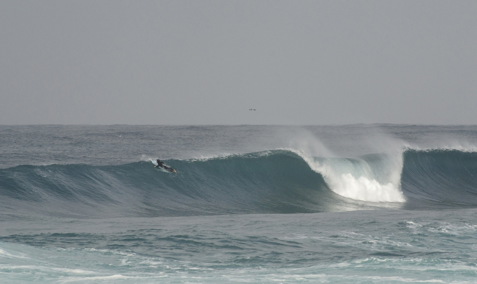 Another shot of the epic day of December. Nicola Pau opts for the next one.