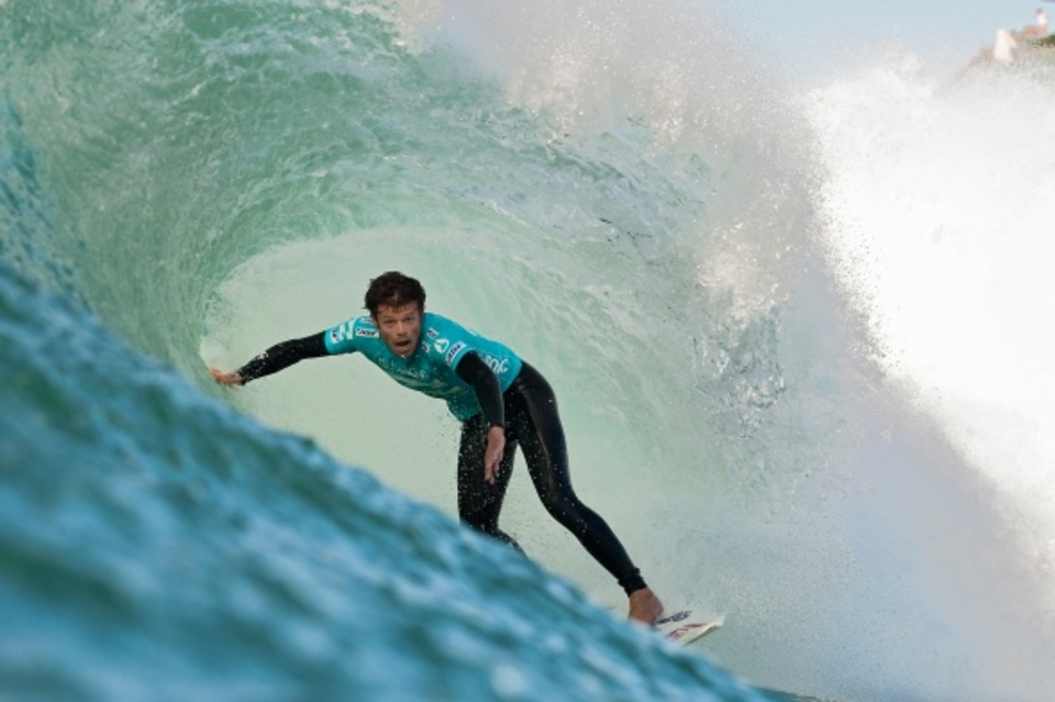 10 on the way to defeating Sean Holmes ... Dane Reynolds