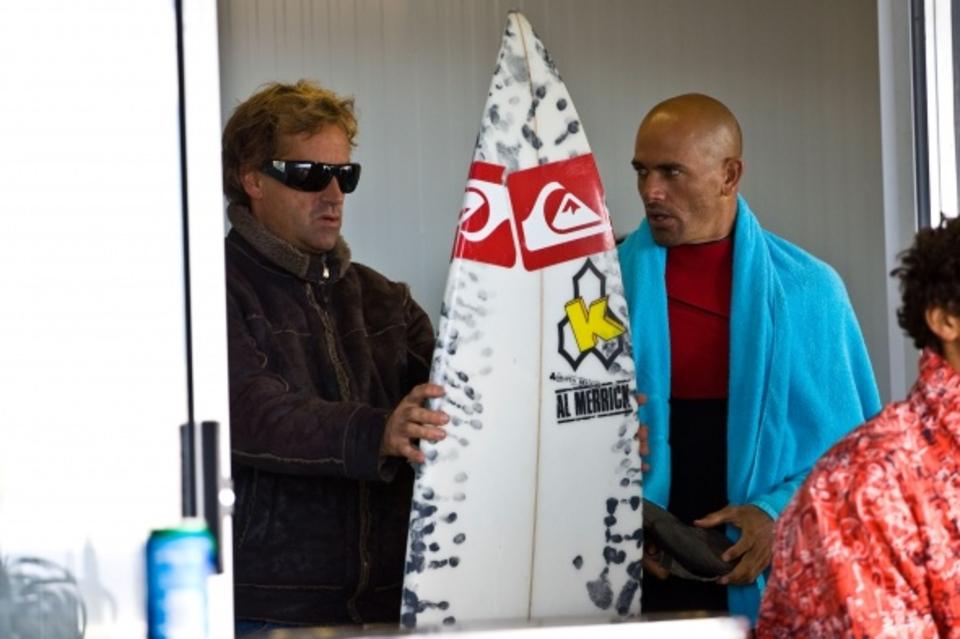 Take my board ... Slater tells Curren