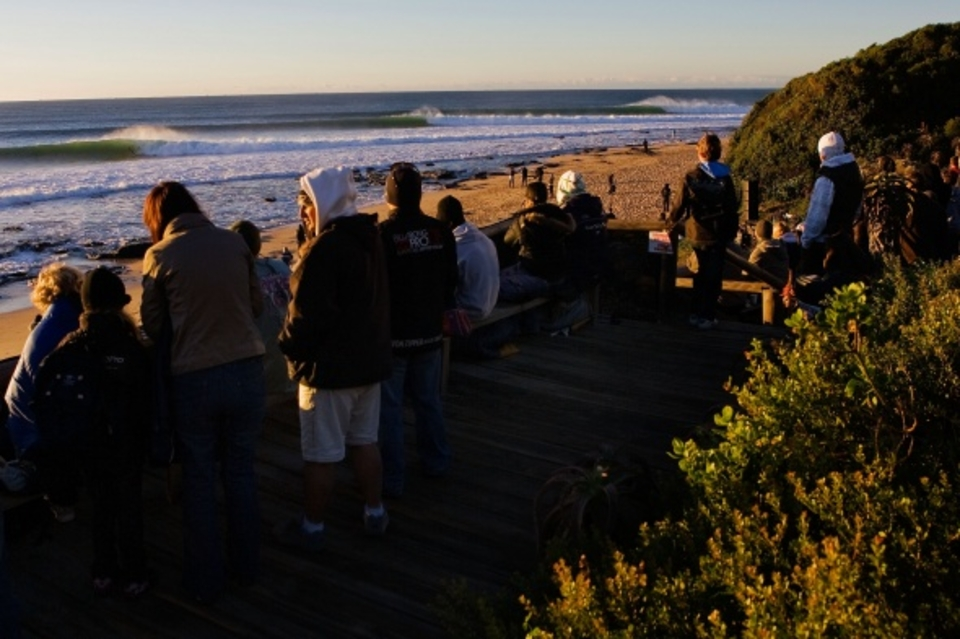 It was as good as the Dream Tour gets ... Sundown at J-Bay