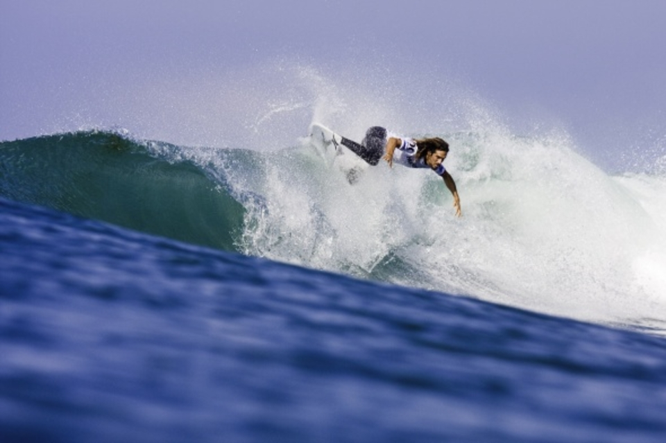 Rob Machado lost to Dane Reynolds ... Great news for the commentary team