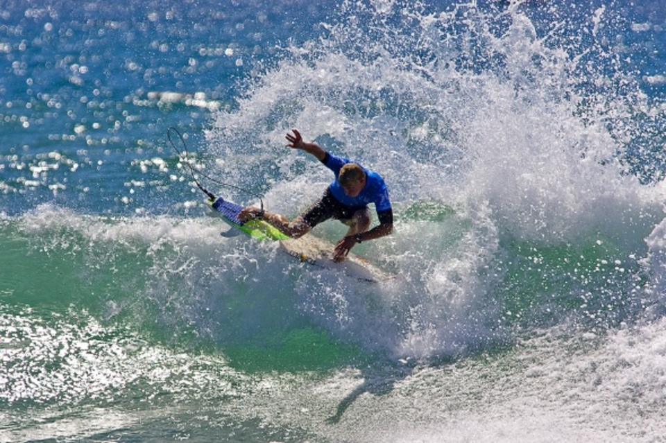 Training, carving and flowing like 2007 ... Mick Fanning