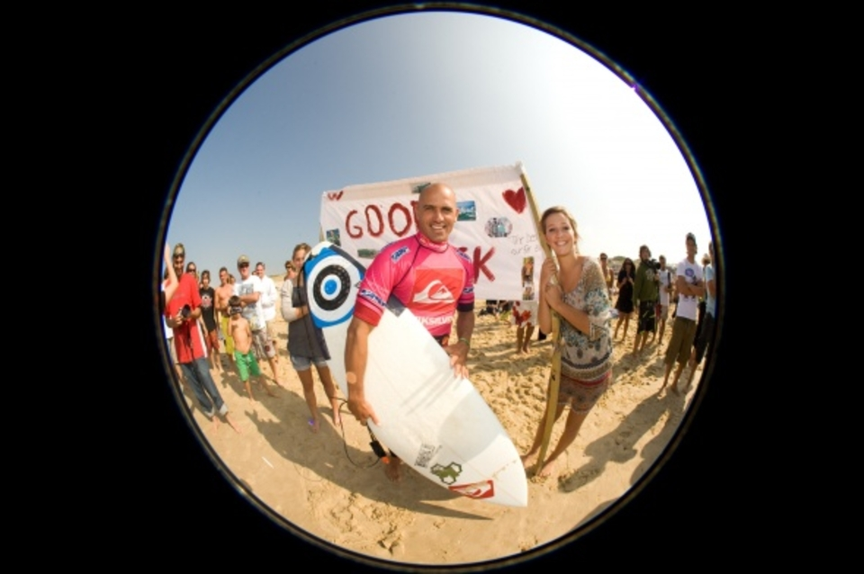 Under the lens ... Kelly Slater