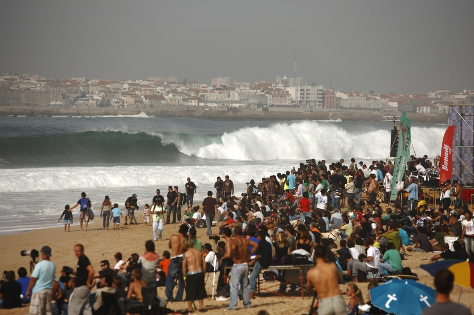 Notable other:  The Portuguese spectators have to be some of the most dedicated in the world, loyally following the shifting event around, with 20,000 of them thinking nothing of walking 4km from the carpark to one of the alternative event sites.    When the waves were pumping at Supertubos they were screaming themselves hoarse and when the final two round went down in onshore slop they still kept up the tempo. The lobby for a permanent Portuguese event is gathering strength.