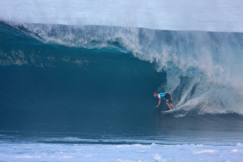 Mick didn't let the fear of a local wildcard rattle him and Torrey Meister didn't enter the equation.    By going through the pressure was all on Parko…