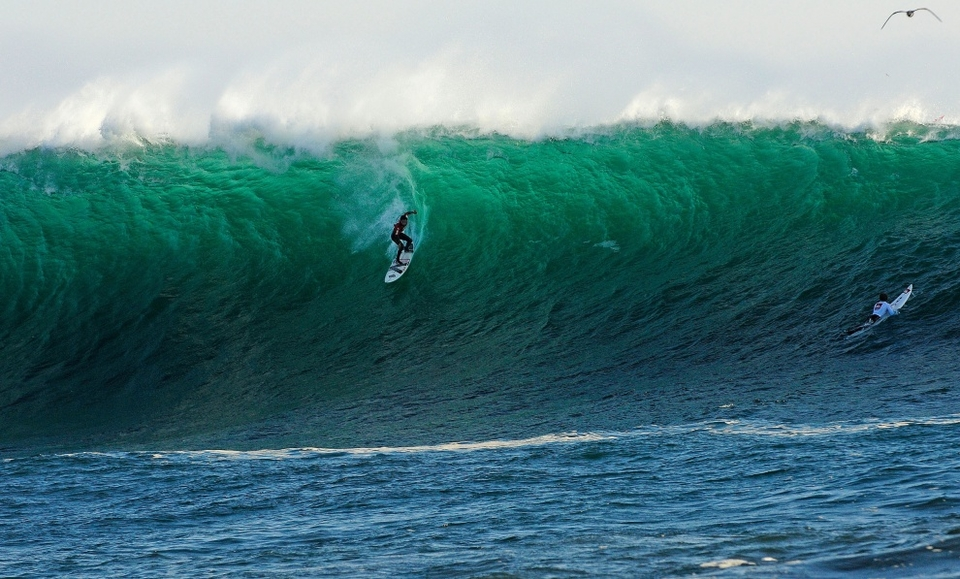 IT'S been 12 months already? Green equals go for the 2011 Quiksilver Ceremonial Punta De Lobos Big Wave Invitational. The official call is