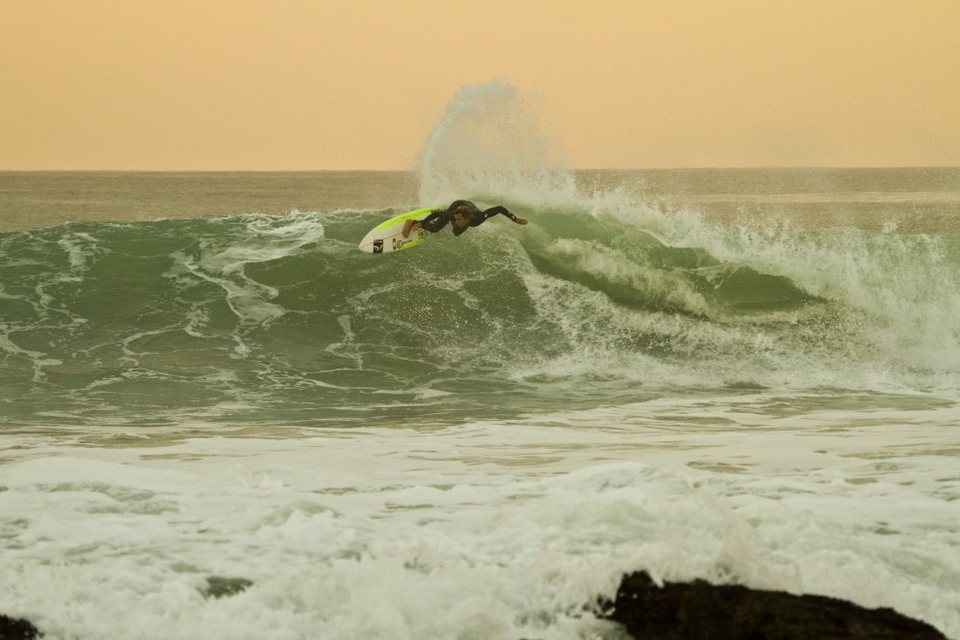 Nate Yeomans doing his do, practise makes perfect and all that.