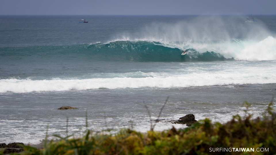 Taiwan offers a wide variety of waves and no shortage of barrels