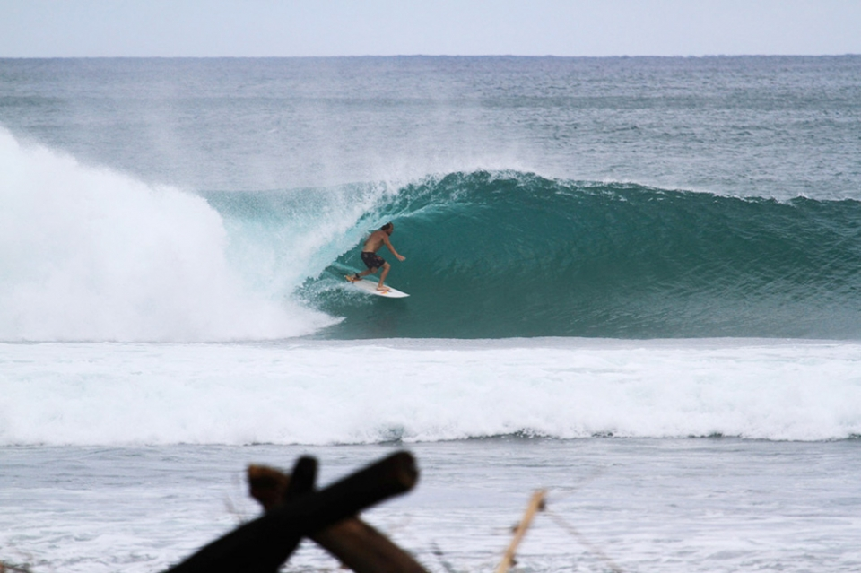 Recent guest Clint had the place dialed. An epic afternoon session to finish the day.