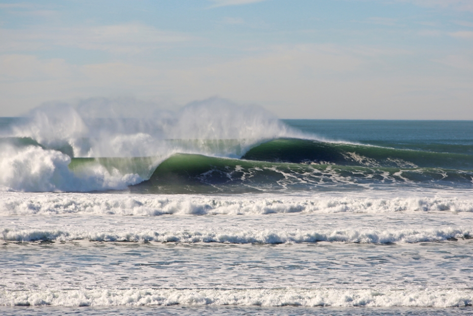 The earliest archaeological evidence of human habitation of the territory of the city of San Francisco dates to 3000 BC. That's a lot of wave watching through the years.
