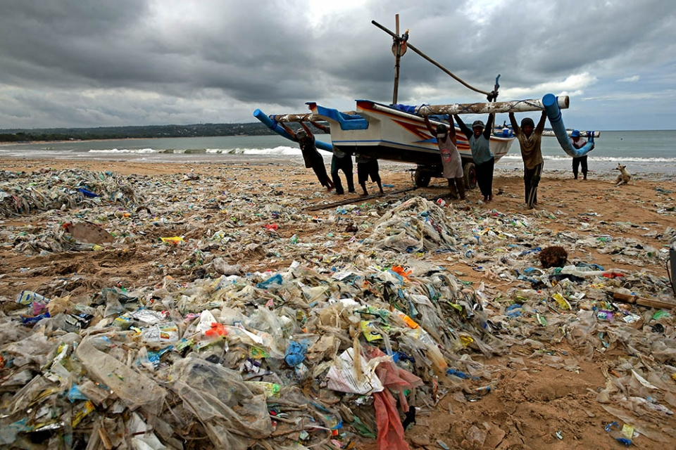 This annual plastic tide was at first dismissed as a