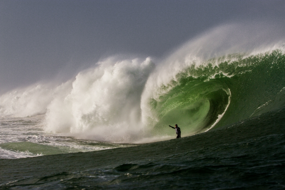 Mullaghmore is a proving ground for European surfers keen to test their nerve in the big stuff. Jayce Robinson was not found wanting.