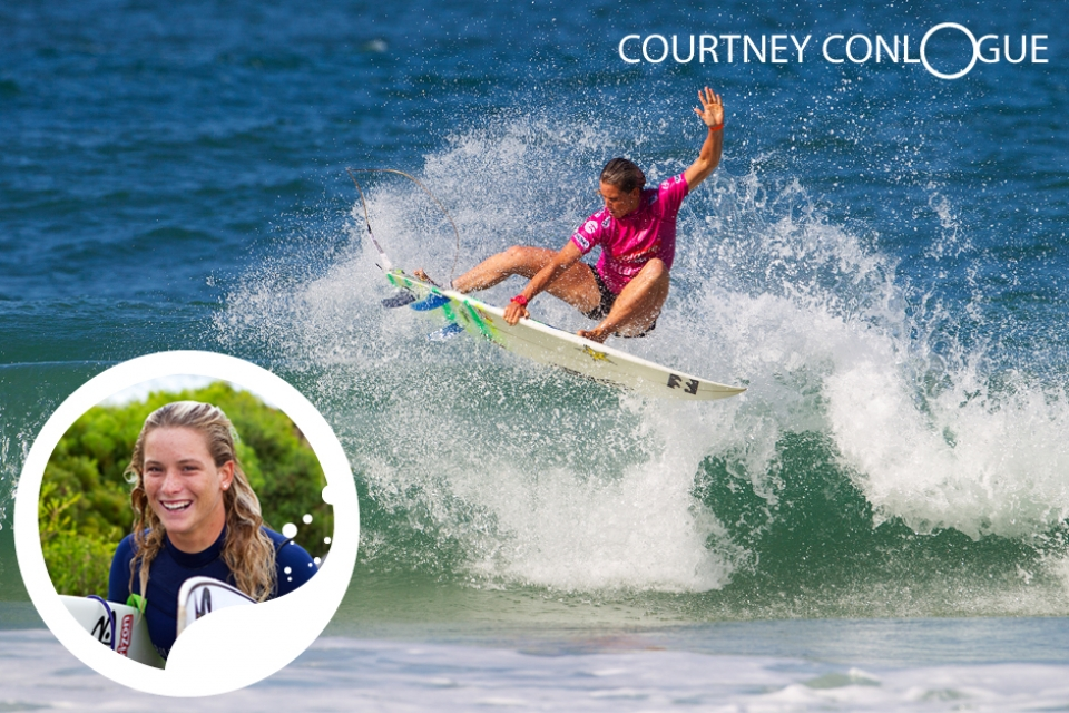 """France is somewhere I always  dreamed of going as kid and when I  finally went, it didn't let me down. The  waves are incredible and for me personally,  the Swatch event is one of the  standout competitions of the year."" The Swatch Girls Pro event receives high praise from the defending Champion, Courtney Conologue.      The Swatch Proteam rider from California, has  emerged as America's strongest contender  for their first ASP Women's  World Title since Lisa Anderson in  1997. Displaying incredible fitness  levels and trademark professionalism  where ever she goes, Conologue has  decided to let her surfing do the talking,  favouring action shots over model  shoots in her bid to gain the recognition  that as a legitimate athlete she  deserves. Set to pull out all the stops to secure her title of champion for another year, Conologue is one not to be missed."