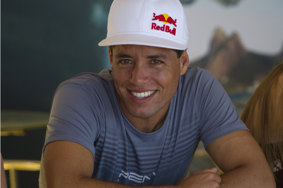 De Souza - would you bet against that smile? Looked tack sharp