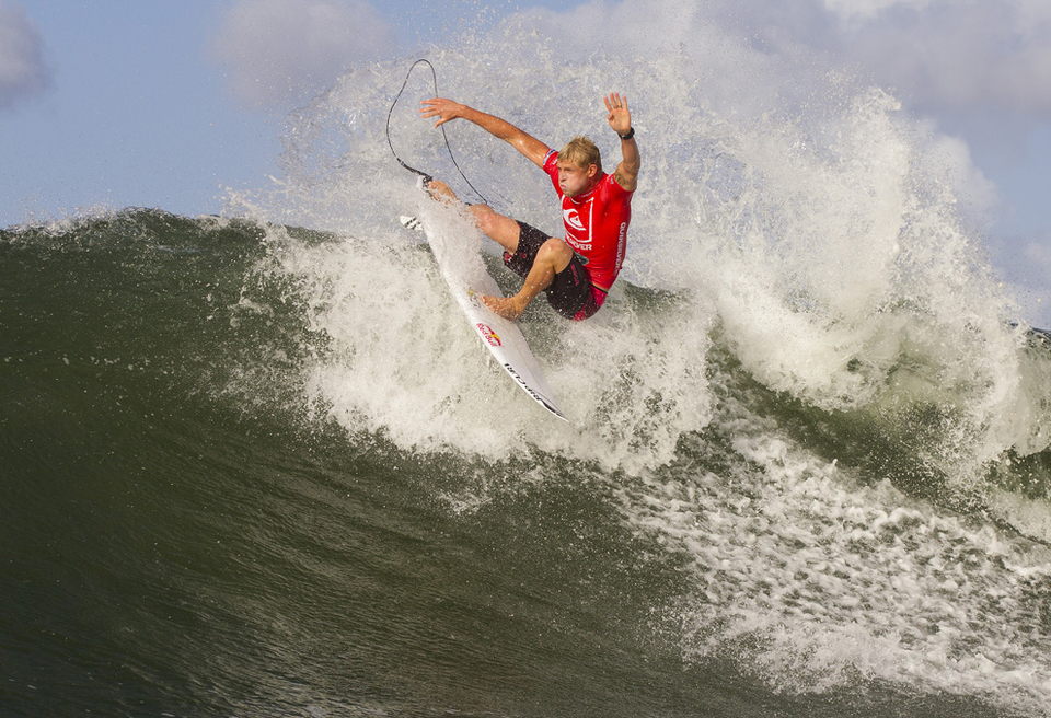 Mick Fanning will have to make it past Kelly Slater