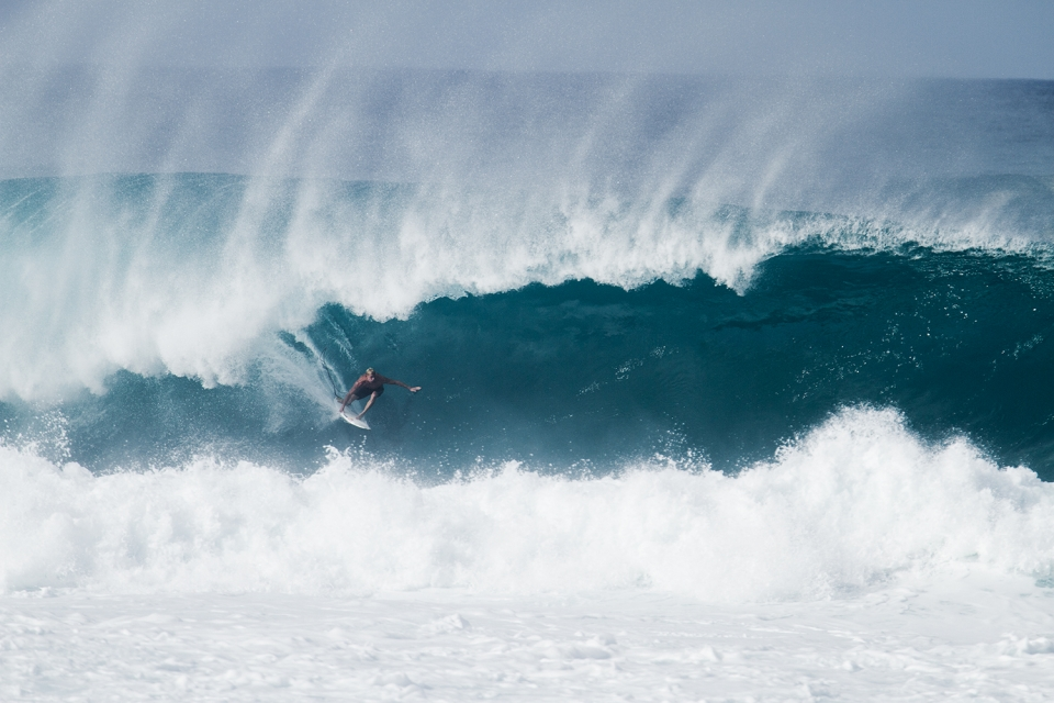 Over the years Fanning has done his time out at Pipe.