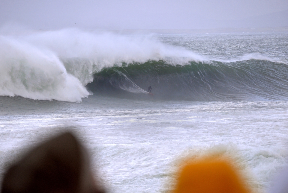 Lyndon Wake came in a bit deflated before lunch, then after some grub snagged this bomb at Mullaghmore.