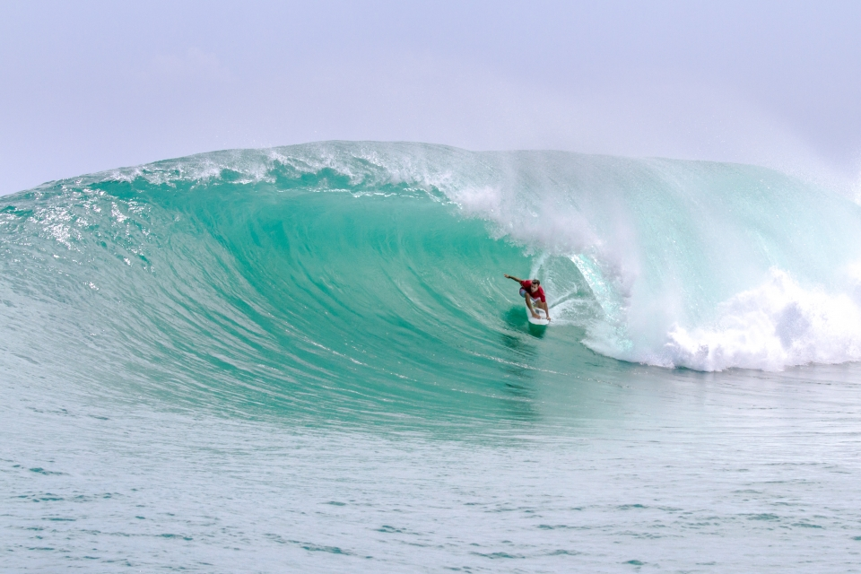 Luke Saranah on the wave of the day: