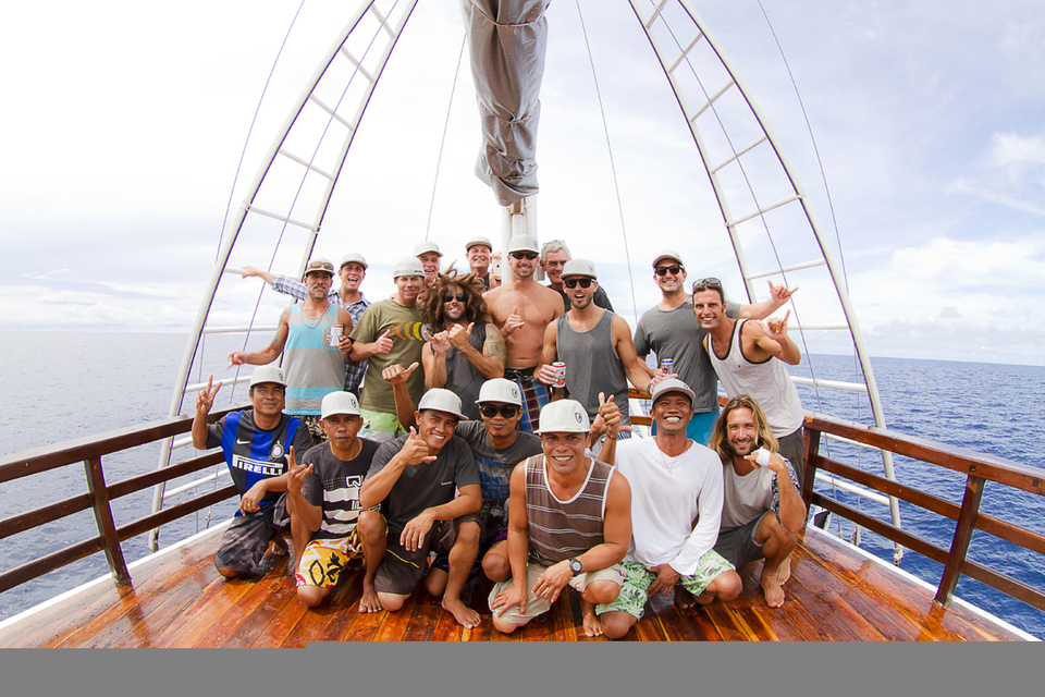 A happy crew with no one aboard who snores like a pig scores more barrels. Fact.