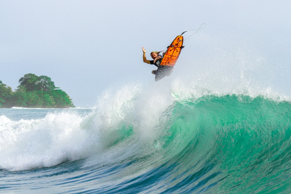 Bocas is not just about barrels; Jamie Lumsdaine from WZ Australia, launching at Paunch