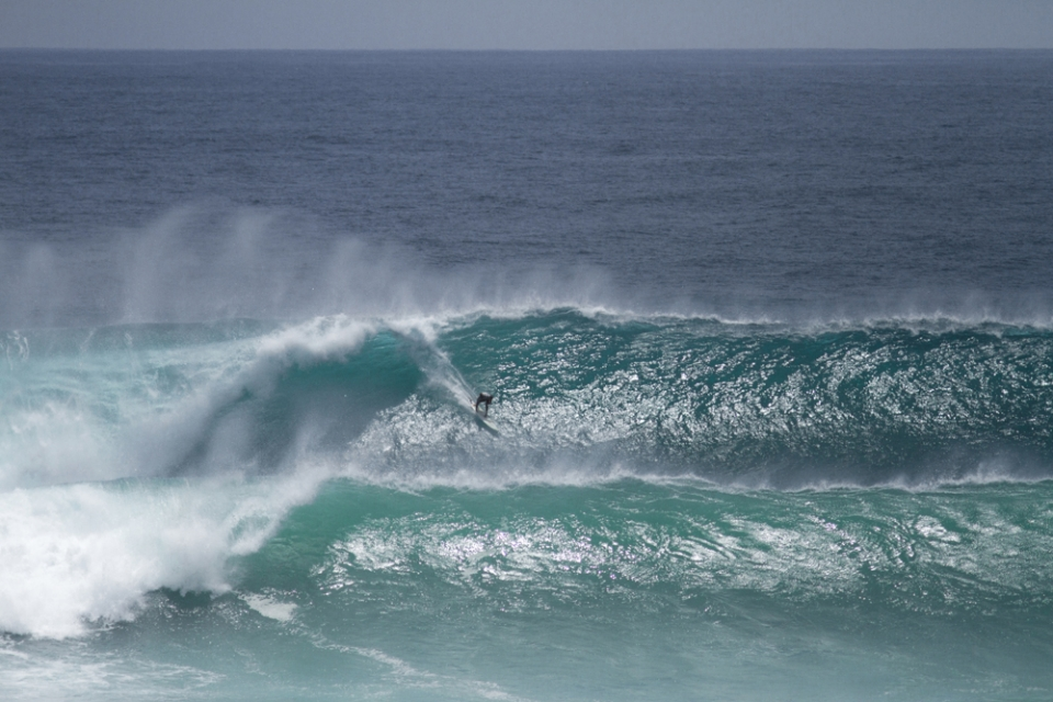 Justen Allport and the Uluwatu bommie
