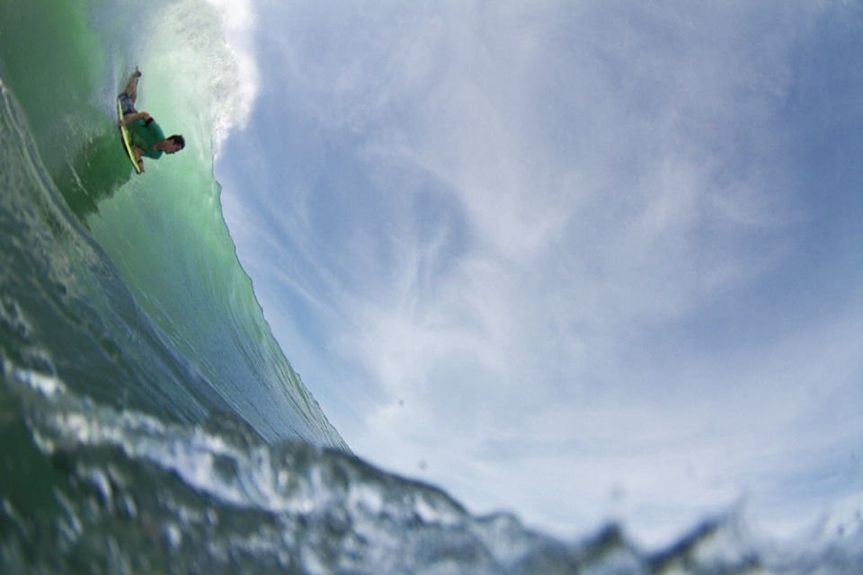 Padang is a great wave to slide prone