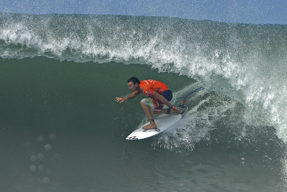 Parko on his way to his second ever perfect 20 heat score and also the second one of this event.