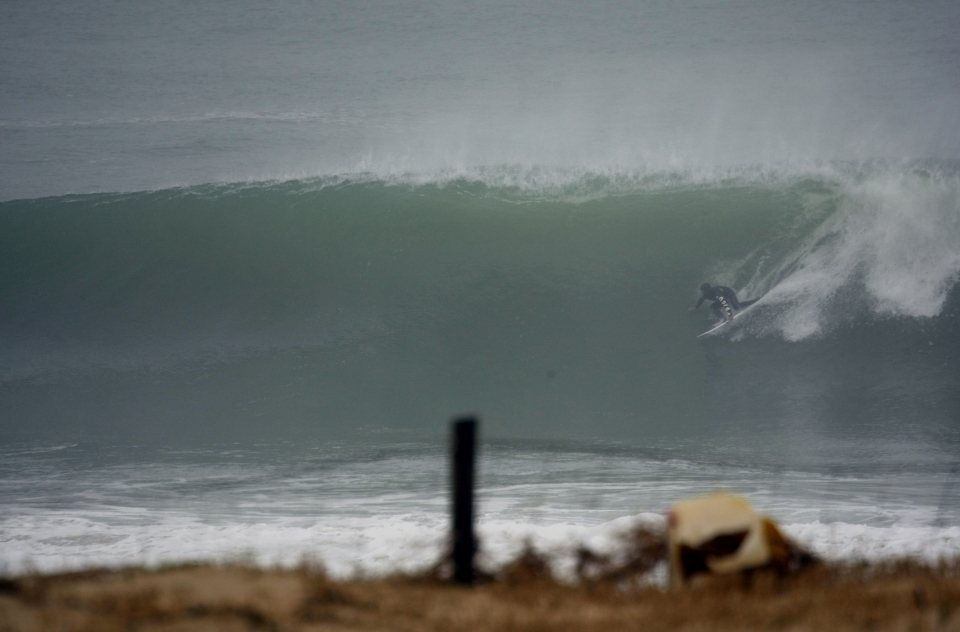 Joan Duru at home in Hossegor.