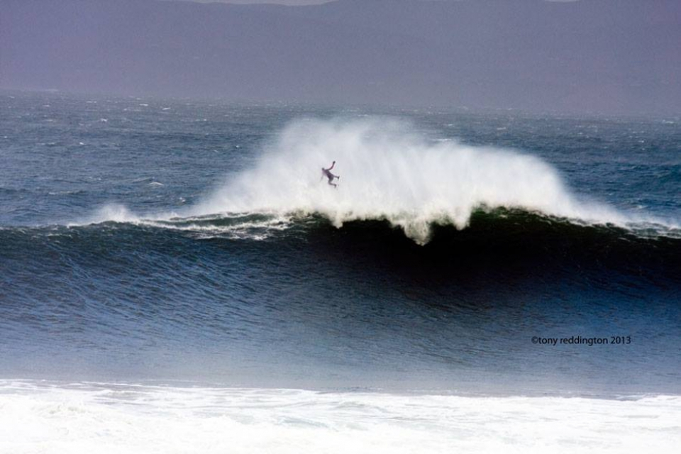Mullaghmore January 6. Surfing the eye of the storm isn't the easiest of tasks. There are consequences.