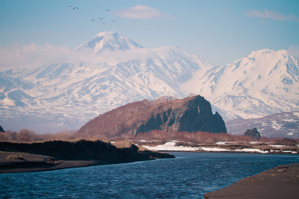 That's right, when the sun comes out Kamchatka happens to be one of the most beautiful places on earth.