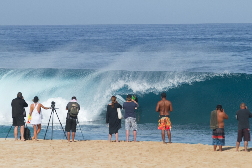 Jamie O'Brien gets all the waves he wants, no matter how crowded the lineup, but it's still nice to have a bit more space.