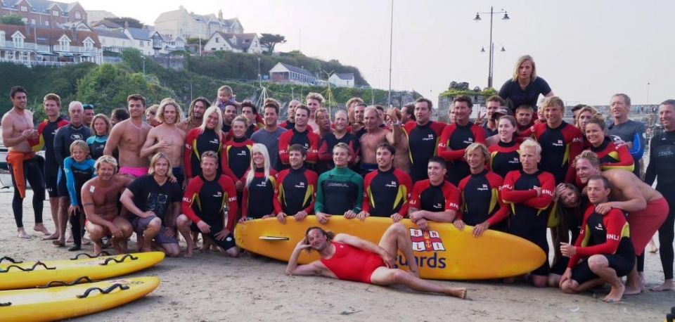 RNLI lifeguard teams.