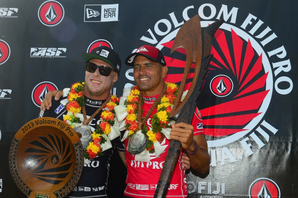 The Mick Fanning and Kelly Slater Show