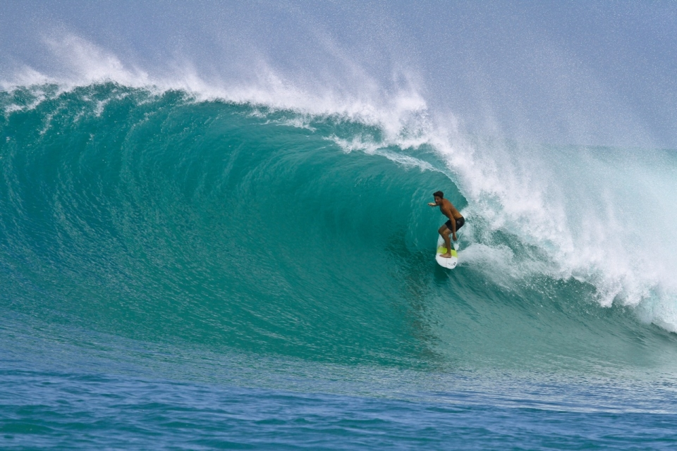 Connor Jensen turned 18 this month and was rewarded with some of the best barrels of the year at Bankvaults.